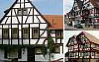 Фахверковые дома: технология строительства, 70 фото, плюсы и минусы, проекты и цены