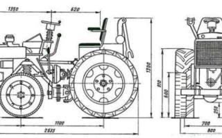 Самодельные минитрактора своими руками с двигателями от мотоблока, грузового мотороллера, ЗИД, УД2 – свежие видео, схемы, чертежи