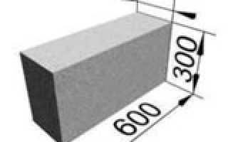 Подробные характеристики газосиликатного блока