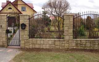 Красивый забор для загородного дома: варианты на фото