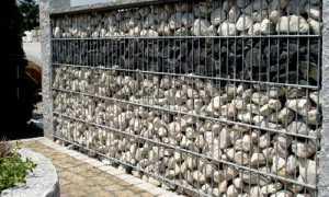 Делаем заборы пергоны из сетки и камня своими руками
