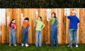 Чем покрасить деревянный забор надолго и дешево: краски для деревянного забора