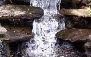 Как сделать водопад на даче своими руками – от выбора места до результата