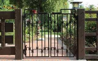 Кованые ворота и калитки: фото, цены, где посмотреть, как выбрать