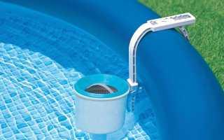 Скиммер для бассейна: зачем он нужен, монтаж своими руками