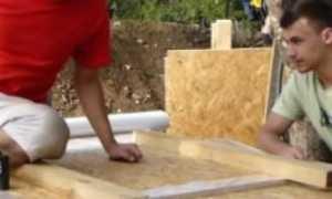 Как сделать опалубку для фундамента своими руками из досок, ОСБ, фанеры, фото, видео
