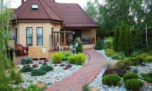 Дизайн сада и огорода на 6 сотках – фото: оформление маленького участка, ландшафтный дизайн