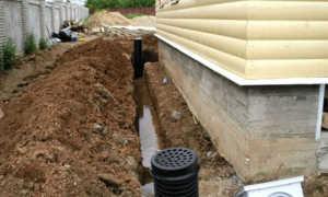 Ливневая канализация (ливневка) вокруг дома, на крыше: что это такое, устройство, монтаж своими руками