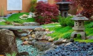 Создаем настоящий японский сад камней на даче своими руками