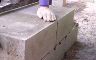 Правильная технология постройки гаража из пеноблока своими руками