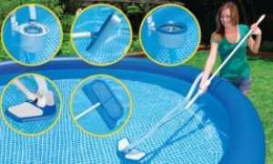 Правильный уход за бассейном на даче: очистка воды и сооружения