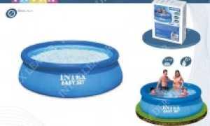 Детские и семейные надувные бассейны для дачи: цены, установка